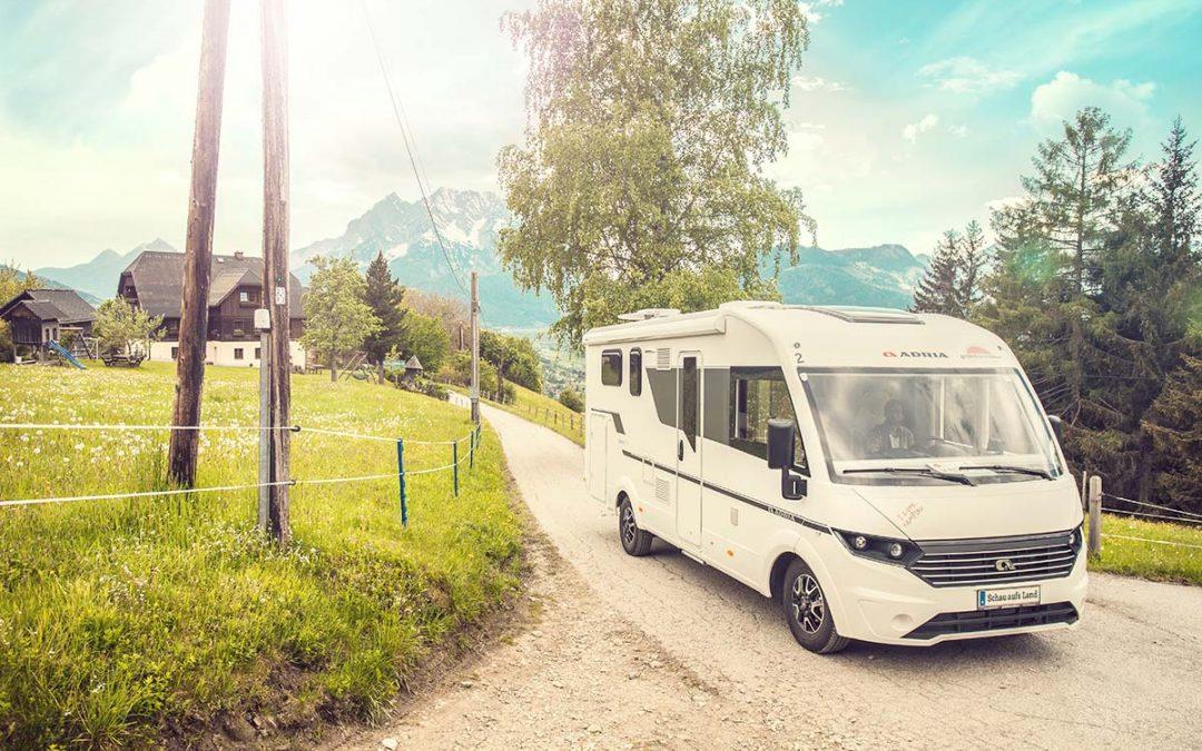 Schau aufs Land: Camping in Österreich